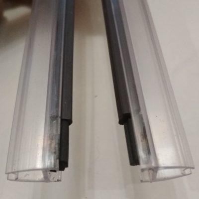 Профиль силиконовый с магнитной лентой