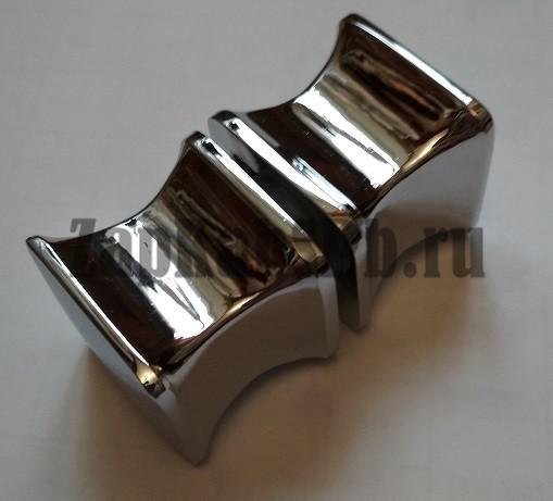 Ручки дверные метал квадрат