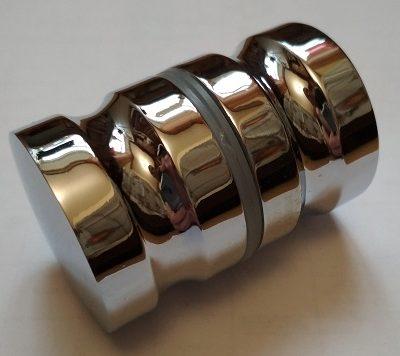 Ручки дверные метал круг