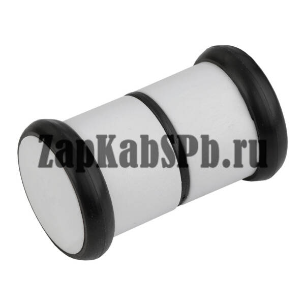 Ручки дверные пластик белый РДП-01